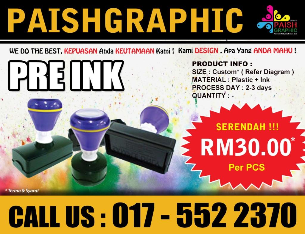Pre Ink